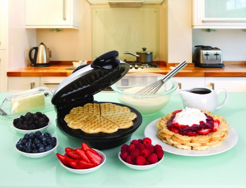 Euro Cuisine Friendly Heart Shaped Waffle Maker