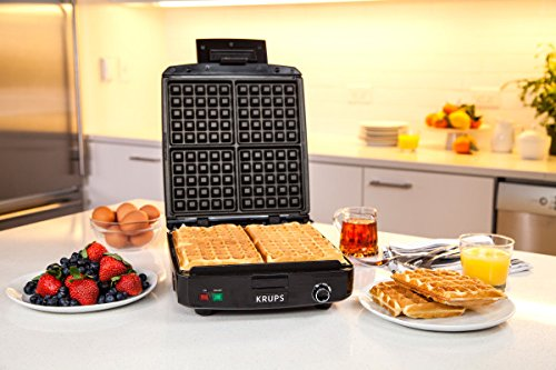 Krups Waffle Maker Review Easy Kitchen Appliances