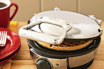 All-Clad 99012GT Stainless Steel Classic Round Waffle Maker