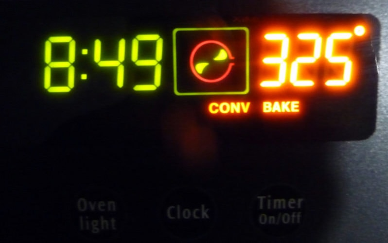 Convection oven features