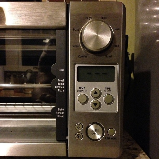 Toaster oven features